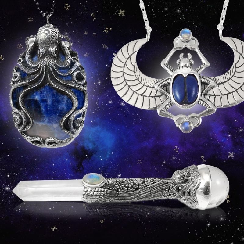 Magical Jewellery and Amulets