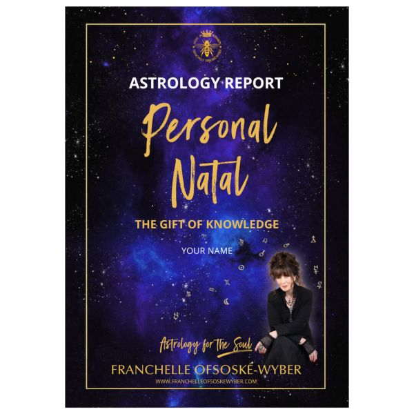 Personal Natal Astrology Report (Bound Booklet)