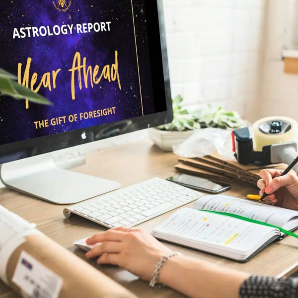 Year Ahead Astrology Report (PDF)