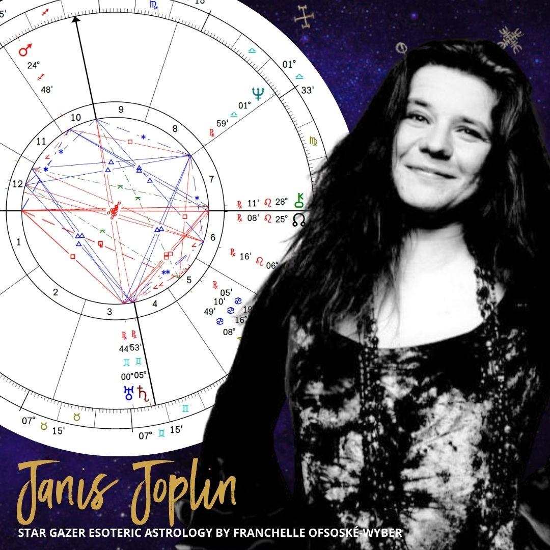 Janis Joplin Astrology Birth Chart: Riding the Raw Plutonian Energy