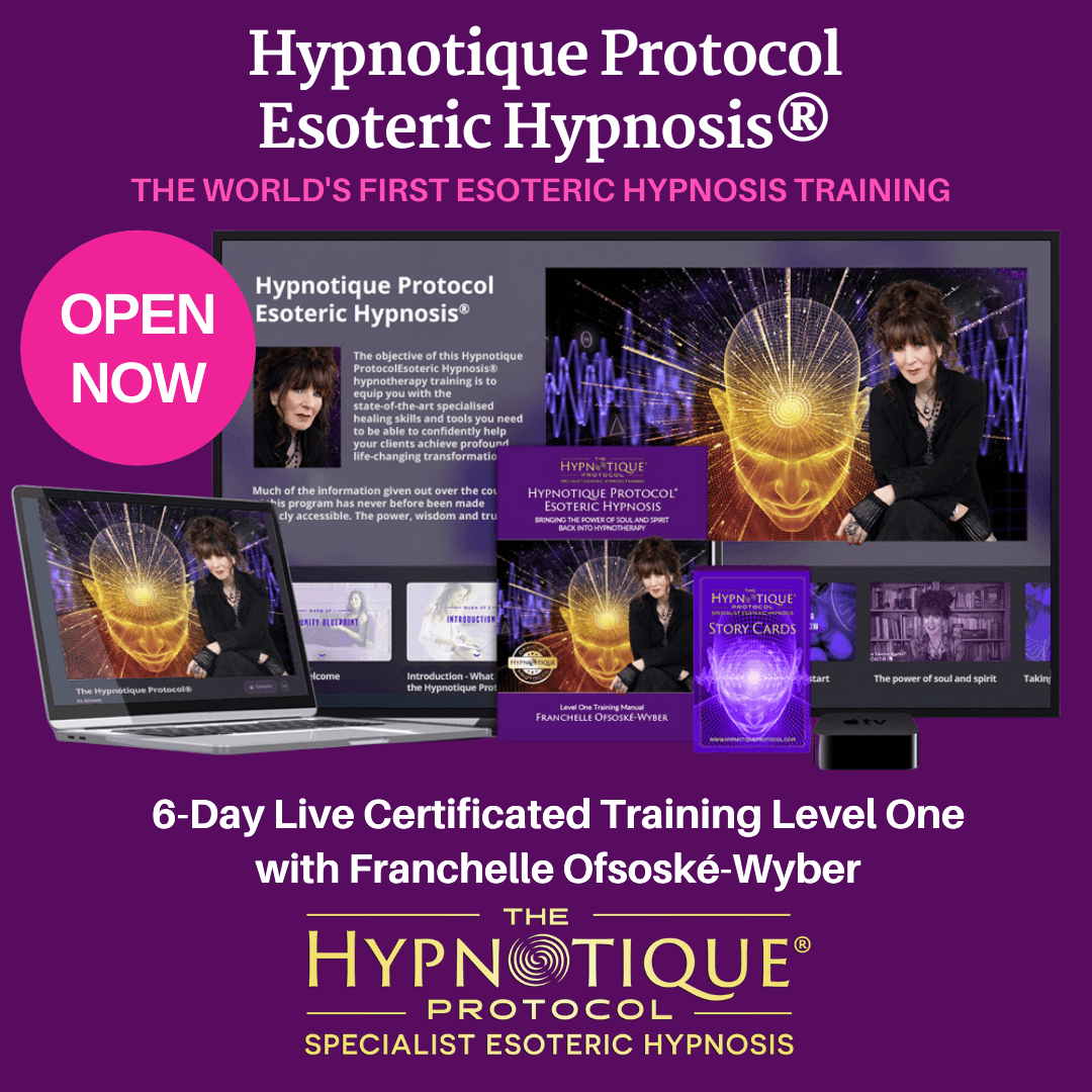 The Hypnotique Protocol Esoteric Hypnosis® Level One Live Zoom Certificated Training | ONLINE | 21, 22, 23 Jan and 28, 29, 30 Jan 2022