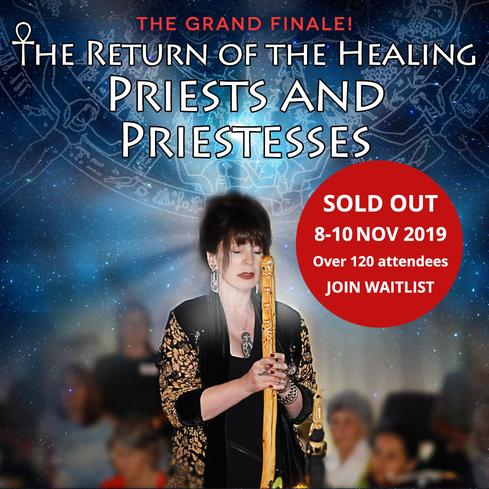 8-10 November 2019 – THE GRAND FINALE: The 13th Medicine Woman Workshop, Retreat and Annual Gathering